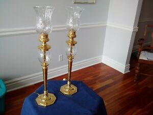 CRYSTAL TABLE LAMP SET