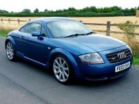 2003 AUDI TT 1.8T QUATTRO 225 | ONLY 99000 MILES | 10 SERVICES | LONG MOT