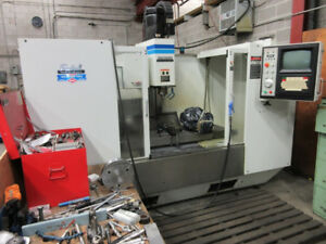 FADAL 4020 CNC VERTICAL MACHINING CENTER W/FULL 4TH AXIS TABLE