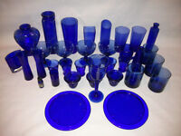 Blue Glass Collection