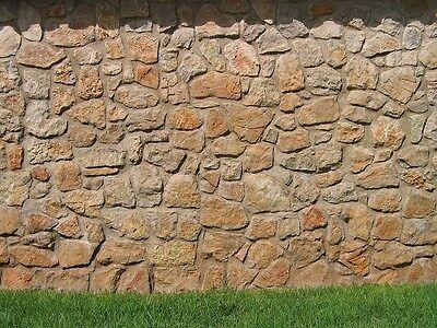 Buntsandsteine,Natursteinmauer Zyklopenmauer Trockenmauer Gartenmauer Steinmauer