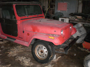 1987 jeep yj from BC