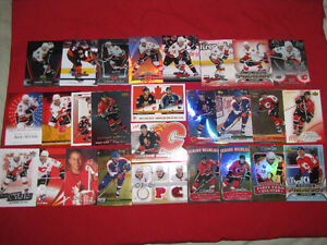 Jarome Iginla -- nice collection of 27 different cards*