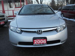 2006 Honda Civic  Sedan 141 kms auto loaded 4995