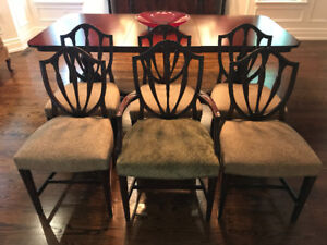 6 Vintage Luxury Dining Chairs