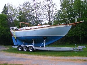 MUST SELL- TRAILER , SAILBOAT RATED 21,000LBS