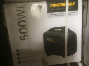 NEW POWERHOUSE 500 watt INVERTER GENERATOR GAS POWERED
