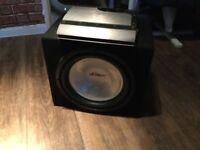 MUTANT SUB & AMP £60