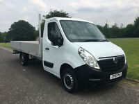 Vauxhall Movano 3.5T Transit Sprinter Size Dropside Extra Long *16ft (5m) Body*