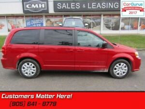 2015 Dodge Grand Caravan SE/SXT  STOW 'N' GO (ONLY 2,700 KMS !!)