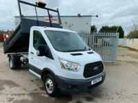 2015 FORD TRANSIT 125PS SINGLE CAB DROPSIDE TIPPER, CHOICE AVAILABLE, VERY CLEAN