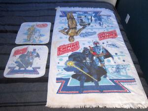 Vintage SW ESB towel / facecloth set 1977 / 1979 * PRICE DROP *
