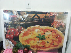 Painting On Canvas Wall Art Pizza