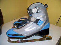 WOMAN'S SHER-WOOD SKATES SIZE10 IN GOOD CONDITION