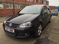 Bargain vw Volkswagen Golf GTI low miles! Full years MOT no advisories