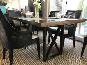 dinning table and sofa sale