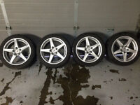 acura rsx type s wheels mags rims 2005-2006
