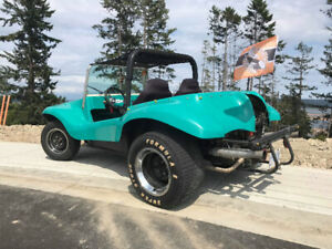 ...Awesome vintage VW dune buggy!..