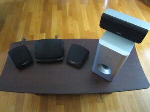 haut parleur, speaker, Sharp, Pioneer, suround, centre