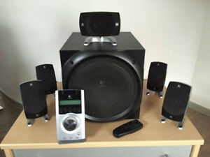 Logitech Model Z-5500 Home Theatre System