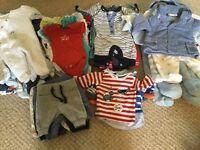 Bundle of Baby Boy Clothes - newborn & 0-3 months