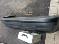 BMW E36 3 Series Rear Complete Bumper with Trim Black 92-98