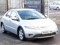 Honda Civic 1.8i,2006, Leather Interior, 86 000 Miles, FSH ,6 Month AA Warranty