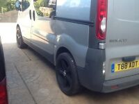 """Set of 4 20"""" wheels with new tyres for Renault Trafic"""