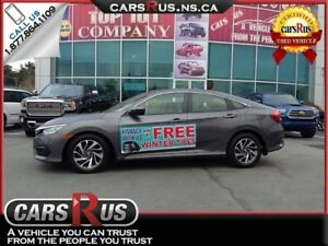 2016 Honda Civic EX FINANCE AND GET FREE WINTER TIRES!