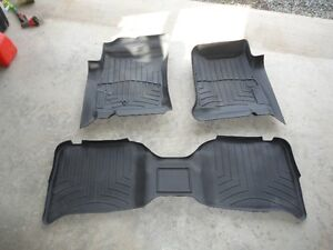 Dodge Dakota Quad cab custom fit Weathertech floor mats
