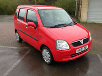2003 Vauxhall Agila 1.0i 12v Expression 5 Door Bright Red
