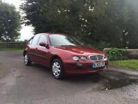 Rover 25 1.4 16v ( 103ps ) iL (103PS) cheap five door hatchback red