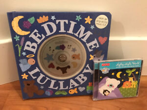 Lullaby book with 2 CDs, new
