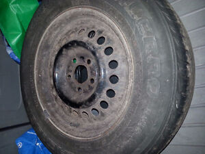 4 brand new all season tires with rims