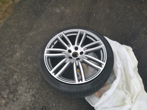 Selling my tire and rim