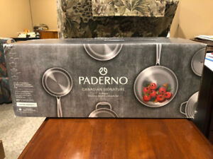 Paderno Signature 13 pc Stainless Steel Cookware Set BRAND NEW