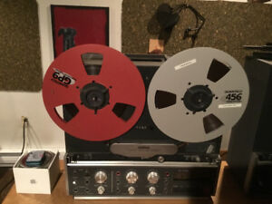 Revox B77 reel to reel, stereo 1/4 inch, mint condition