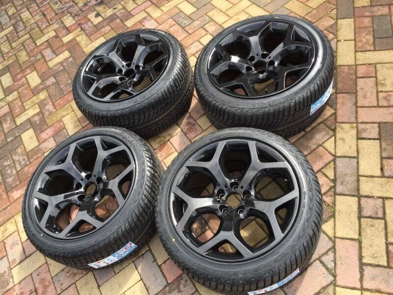 Genuine Bmw 20 Quot X6 X5 214 Y Spoke Alloy Wheels Amp Brand New