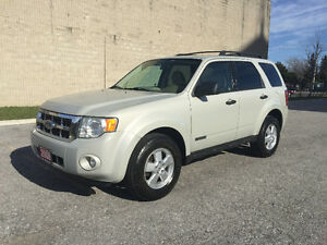2008 Ford Escape Low Km/Accident Free/Certified and E-Tested