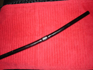 Used 23 inch black bike handle bar