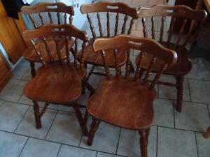 Pub-style chairs