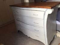 Shabby Chic Chest of Draws / Dresser