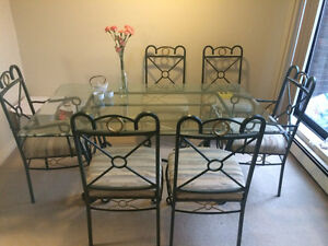 SOLD!!!A set of table&chairs for quick SALE!!