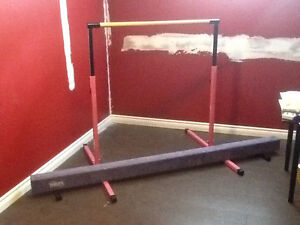 Gymnastics Bars and Beam Set - Nimble Sports