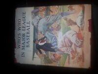 1933 Who's Who in Major League baseball with dust jacket *RARE*