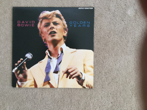 David Bowie Golden Years 33 1/3 RPM vinyl LP