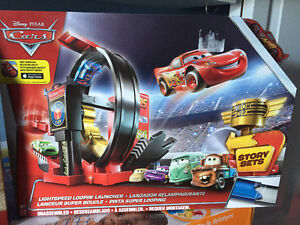 New! Disney Cars light speed loopin launcher set with car Kitchener / Waterloo Kitchener Area image 1