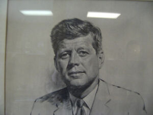 JFK SKETCH..MARILYN MUNROE OIL/CANVAS Peterborough Peterborough Area image 6