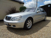 MERCEDES BENZ S500 5.0 AUTO 1 OWNER SERVICE HISTORY ONLY 62K MILES HPI CLEAR