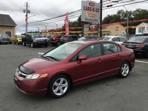 2006 Honda Civic LX 4dr Sedan w/manual